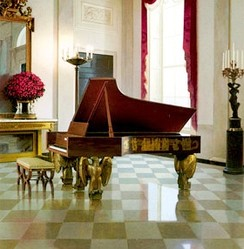 Steinway & Sons grand piano in the White House