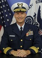 Ronald J. Rábago, the first Hispanic to be promoted to Rear Admiral (lower half) in the United States Coast Guard