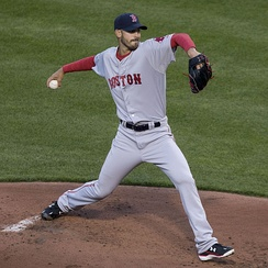 Boston starter Rick Porcello got the win in Game 4, sending the Red Sox to the ALCS.