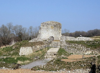 Ruins of Clarendon Palace