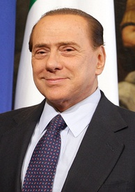 Silvio Berlusconi, longest-serving post-war Prime Minister
