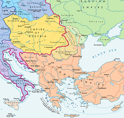 Southeast Europe after the Treaty of Bucharest