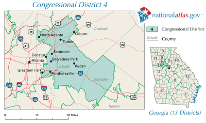 Georgia's 4th congressional district in 2010