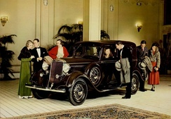 Dodge aimed for the luxury market in this advertisement for the 1933 model Eight
