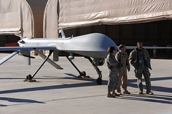 46th Expeditionary Reconnaissance Squadron MQ-1B Predator UAV