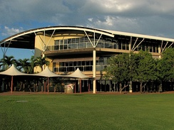 A campus building of Charles Darwin University