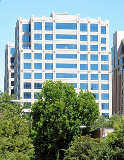 The California Attorney General's main office in Sacramento is housed in this building