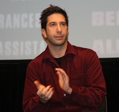 Schwimmer in 2007 at the premiere for Run Fatboy Run, a movie that he directed