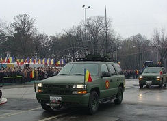 LSSV Tahoes in Romania