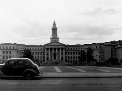 Denver City and County Building (circa 1941), looking west.