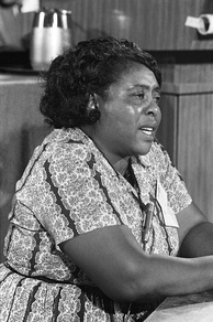Fannie Lou Hamer of the Mississippi Freedom Democratic Party (and other Mississippi-based organizations) is an example of local grassroots leadership in the movement.