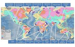 LIP на карте геологических провинций