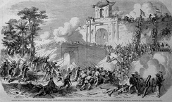 French capture of Saigon, 17 February 1859