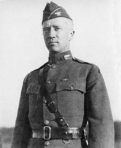 Patton as a temporary colonel at Camp Meade, Maryland, 1919