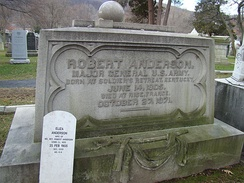 Gravesite at the West Point Cemetery
