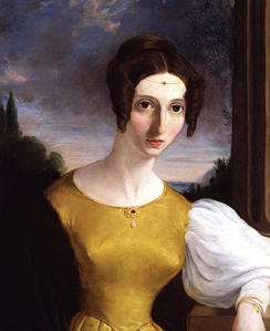 Harriet Taylor Mill, unknown painter, National Portrait Gallery, London