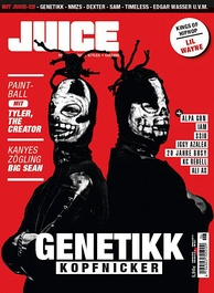 The German hip hop magazine Juice.