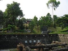 Парк, который был построен после уничтожения