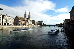 The Limmat in Zürich
