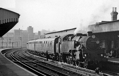Local train to Ashford in 1961