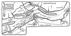 Operations on the Delaware River, Oct–Nov, 1777