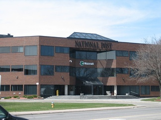 Former National Post (and Postmedia) building in Don Mills
