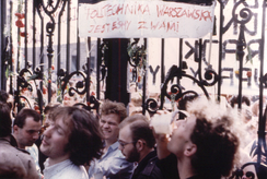 Polish anti-communist university students