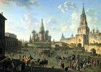 Red Square in Moscow, 1801