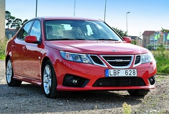 2012 Revised version and facelifted Saab 9-3 Griffin (2012) (Saloon)