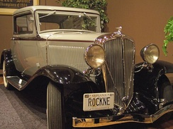 A Studebaker Rockne at the Studebaker National Museum in South Bend, Indiana