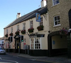 The Angel Inn at Wetherby is a coaching inn on the former A1, bypassed since the 1950s.