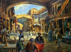 The Char-Chatta Bazaar of Kabul by A. Gh. Brechna, 1932