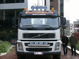 Swedish Volvo is the world's second largest manufacturer of heavy-duty trucks