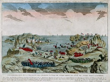 The descent of the French on St. John's, Newfoundland, 1762