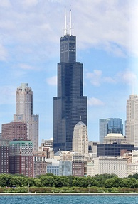 Completed in 1973, the Sears Tower in Chicago dethroned the World Trade Center, and was the tallest in the world from 1974 to 1998