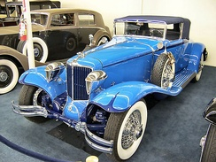 1930 Cord, part of the Auto Collections in 2005