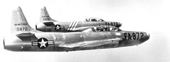 F-94Bs of the wing's 59th FIS