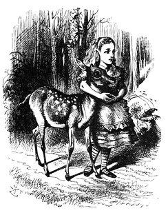 Alice and the fawn