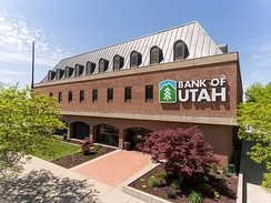 Bank of Utah was founded in Ogden in 1952 and maintains its corporate headquarters in Ogden.