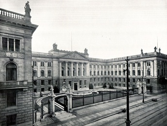 House of Lords, about 1900