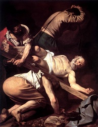 Saint Peter, an apostle of Jesus, was executed by the Romans