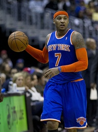 Puerto Rican NBA All-star Carmelo Anthony