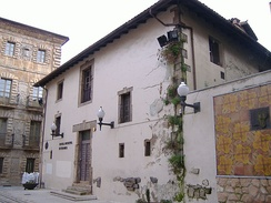 The house in Avilés where Pedro Menéndez de Aviles was born