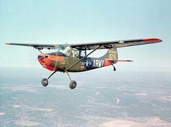 A Cessna O-1 Bird Dog