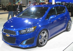 Chevrolet Aveo Concept, later went into production as the Chevrolet Aveo, UK and the Chevrolet Sonic, US