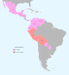 Bolivia and Peru have majority-Native American populations, including mestizos.