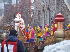 Quebec City's Winter Festival is the world's largest winter festival.