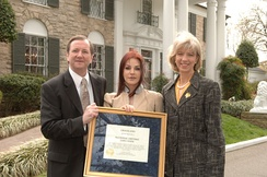 Designation of Graceland mansion as a National Historic Landmark in 2006