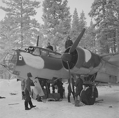 Dornier Do 17Z of the Finnish Air Force, January 1942