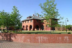 Fayetteville Area Transportation and Local History Museum in the restored 1890 Cape Fear and Yadkin Valley Railroad Depot